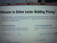 With eBuildings and Improv, you and your Lester dealer can co-create your Lester building at your convenience