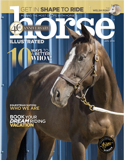 January 2015 Horse Illustrated Cover