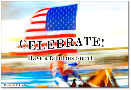 Celebrate horses as a part of this 4th of July