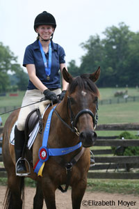 Holly and Dexter's blue ribbon