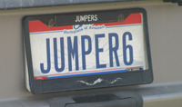 Horsemobile 'Jumper6' license plate