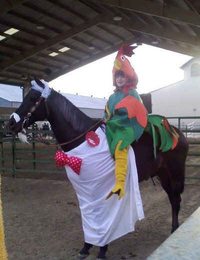 HI Horse Halloween Costume Contest 4th Place