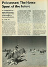 1988 Polocrosse article