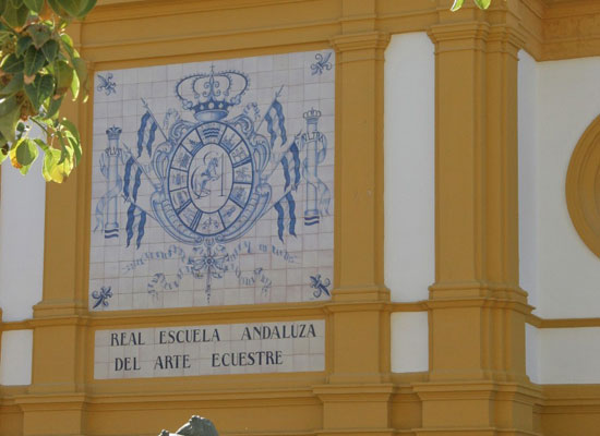 The Royal School of Equestrian Art in Jerez, Spain