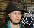 Equestrian Helmet Fit Step 3: Positioning the Helmet