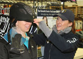 Equestrian Helmet Fit Step 4: Checking the Helmet's Fit