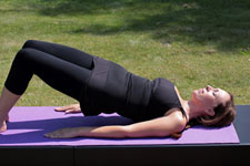 Equestrian Pilates: Spinal Bridging position B