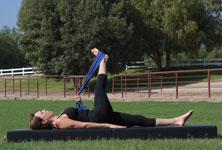 Equestrian Pilates: IT Band and Inner Thigh Stretch position B