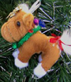 Get fuzzy ornament ideas from HorseChannel.com to liven up your tree