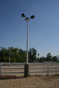 Equestrian Services LLC gives advice on choosing the right arena lighting