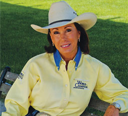 Marlene Mcrae helps people with barrel racing techniques