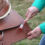 Decorative leather will require closer cleaning