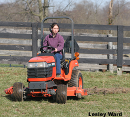 Use these tips to make a safe tractor riding experience