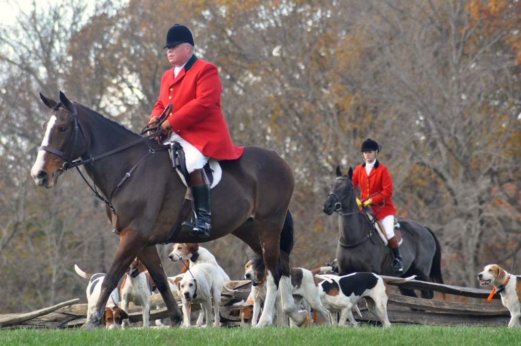Fox Hunting at Mount Vernon