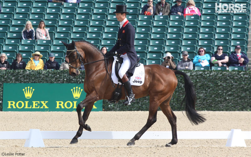William Fox-Pitt and Seacookie