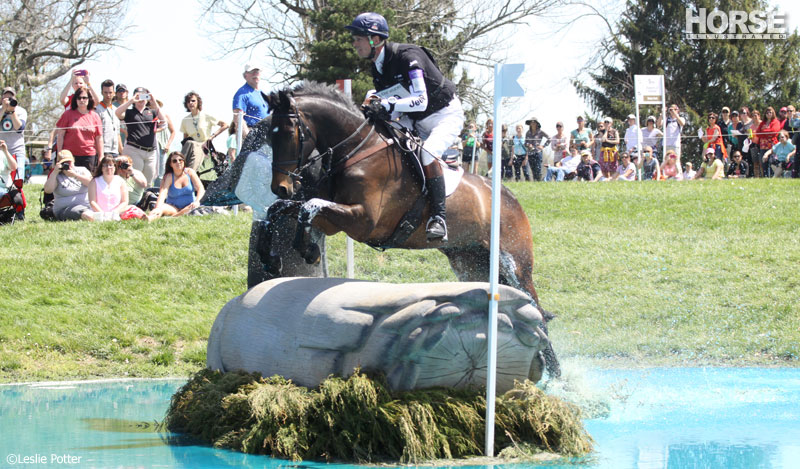 William Fox-Pitt at the 2014 Rolex Kentucky Three-Day Event