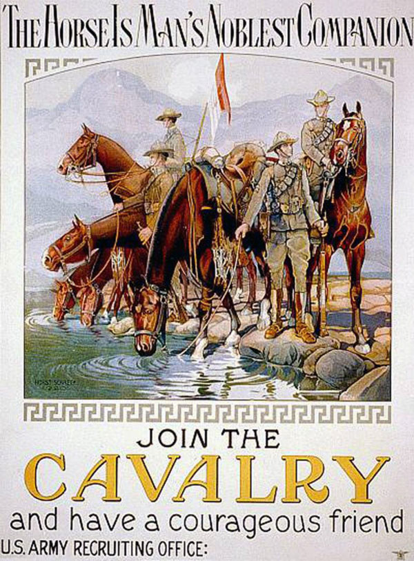 Cavalry Poster