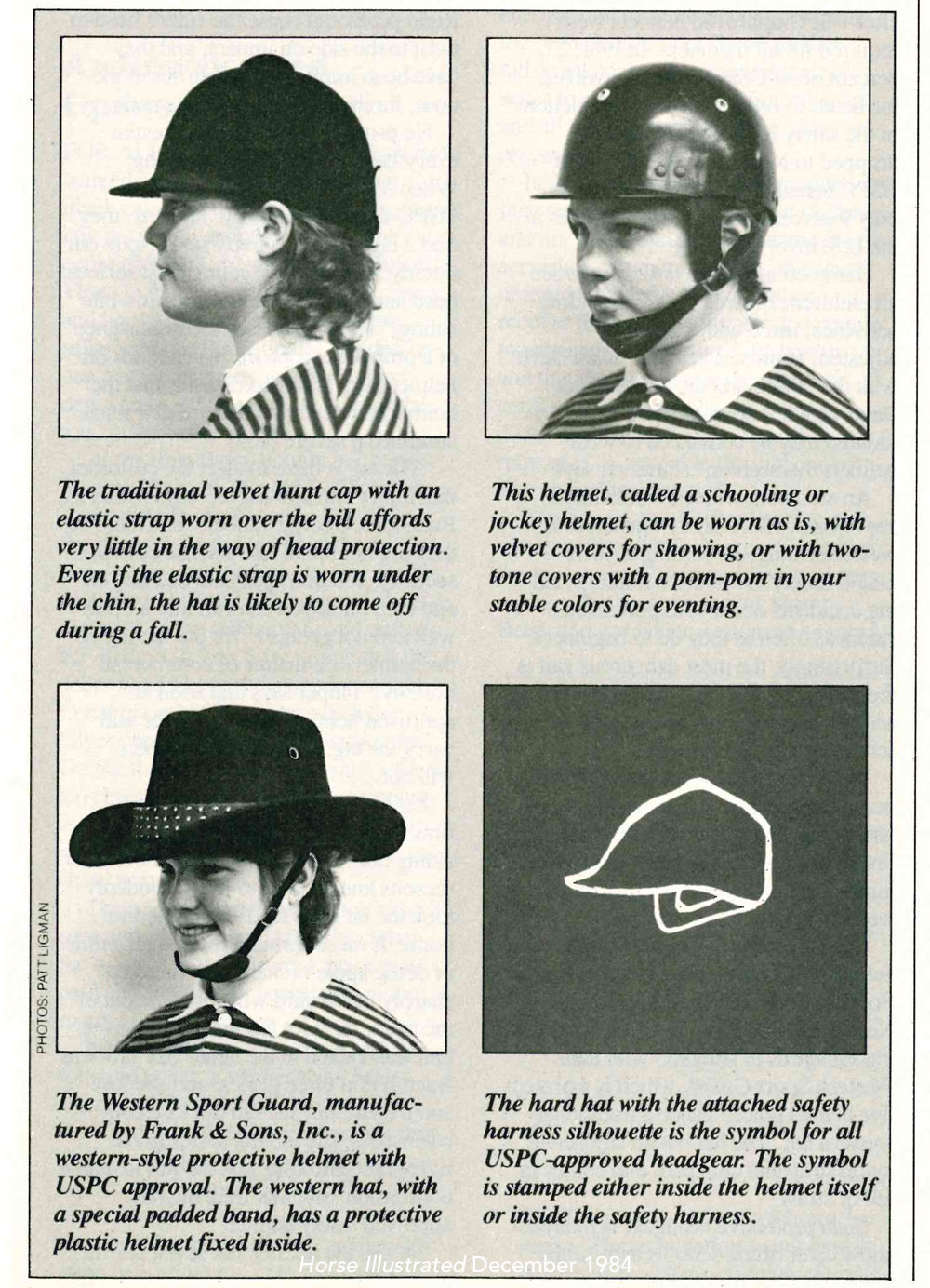 Helmet Designs of the 1980s