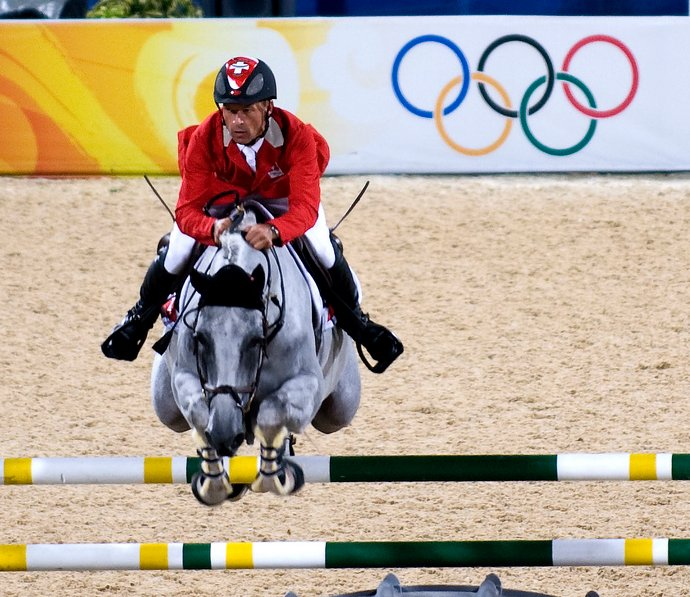 Equestrian Show Jumping at the Beijing Olympics