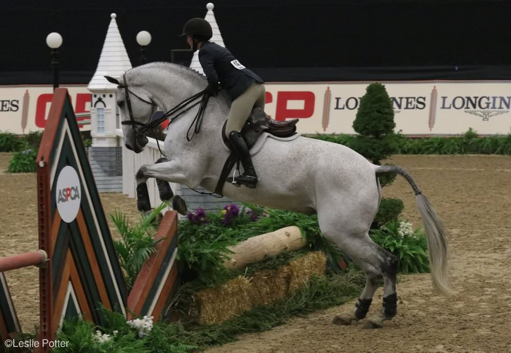 Abigail Brayman at the 2017 Maclay Final