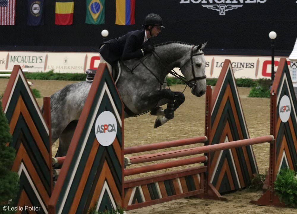 Cooper Dean at the 2017 Maclay Final
