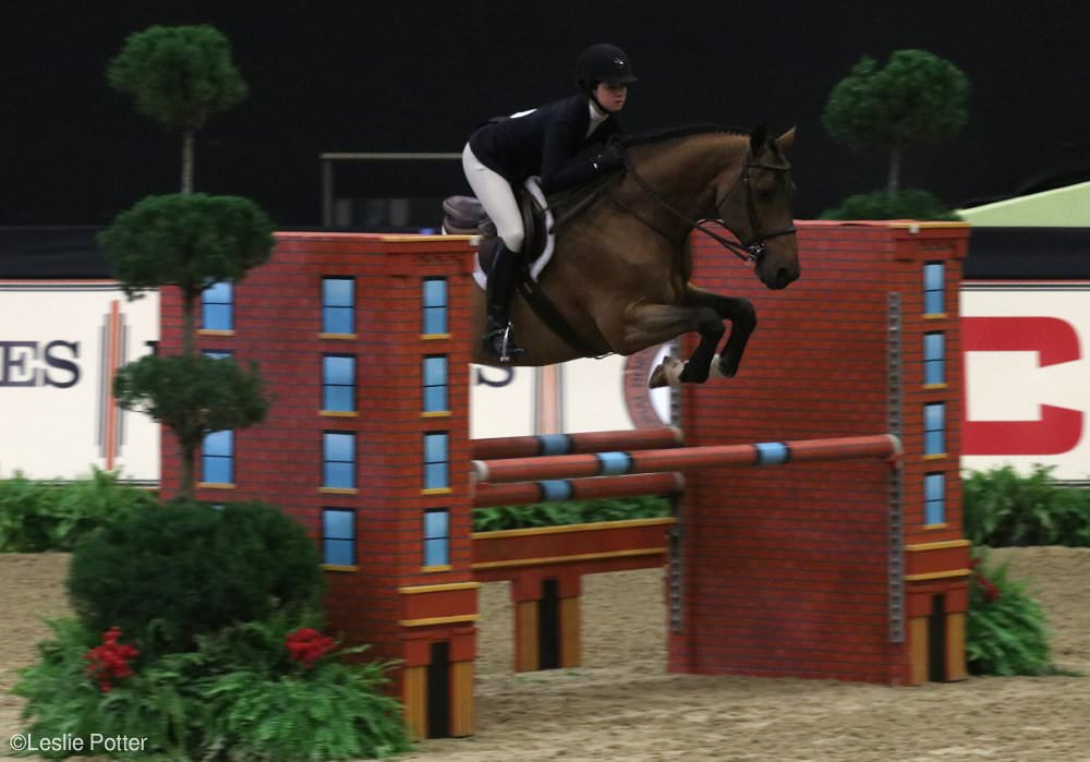 Emma Crosbie at the 2017 Maclay Final