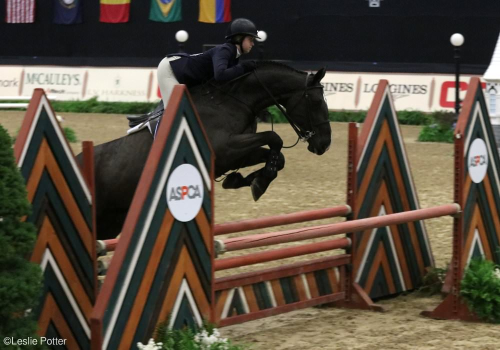 Madison Goetzmann at the 2017 Maclay Final