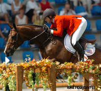 Beezie Madden riding Authentic