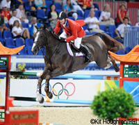 Team USA took the gold for show jumping at the 2008 Olympics