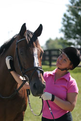 What is one thing you would change about your horse?
