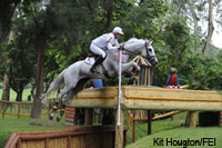 Germany is first in the Olympic eventing competition