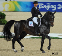 Steffen Peters riding Ravel at the 2008 Olympic Games