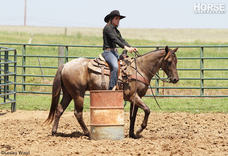 Barrel Racing Practice