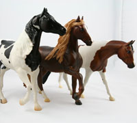Breyerfest features model horse enthusiasts and collectors alike