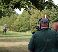 Filming eventing