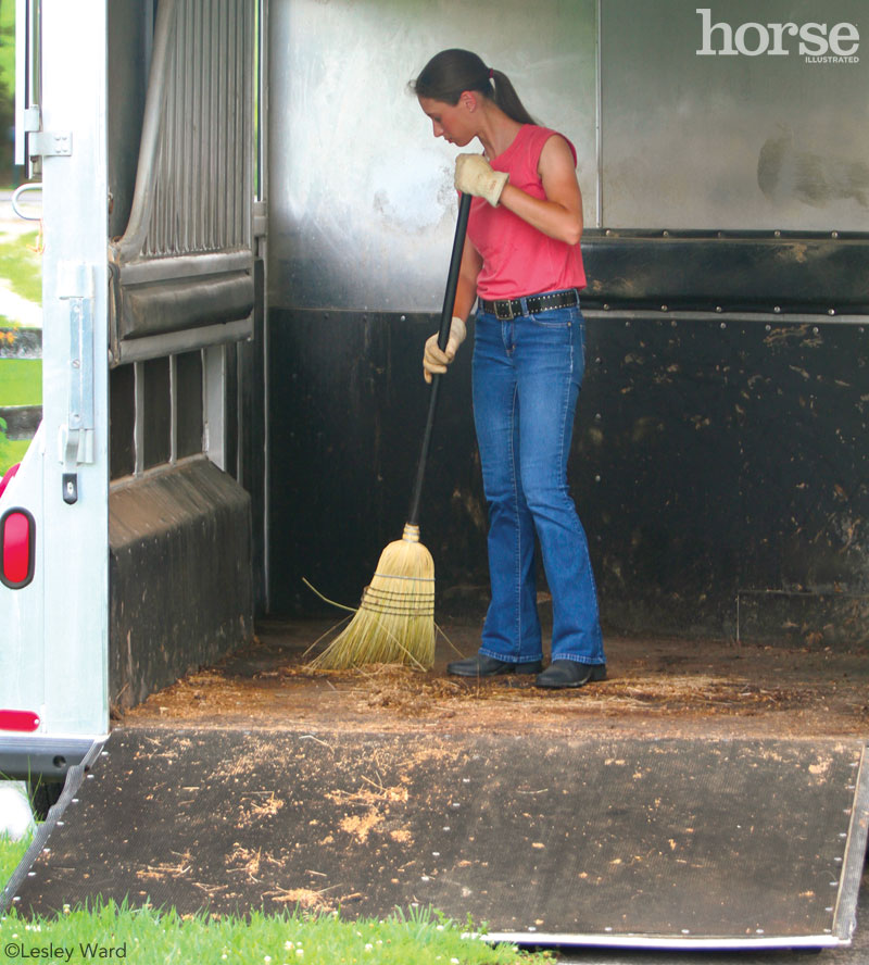 Trailer Cleaning