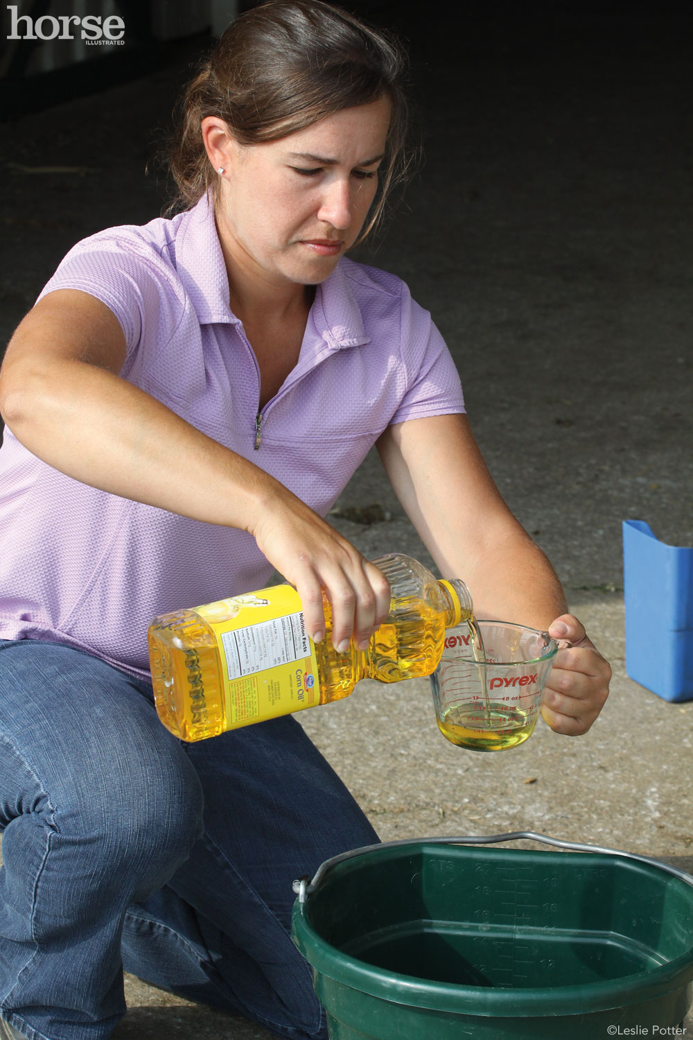 Corn Oil for Horses