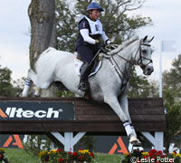 Courageous Comet and Becky Holder at the World Equestrian Games