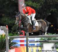 Eric Lamaze and Hickstead at the 2008 Olympics