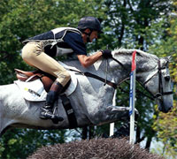 Transitioning to cross-country jumping requires specific training with your horse