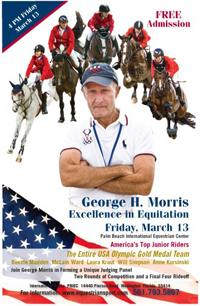 George Morris Excellence in Equitation poster