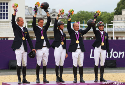 German Eventing Team