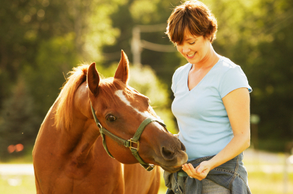 Bonding with your horse