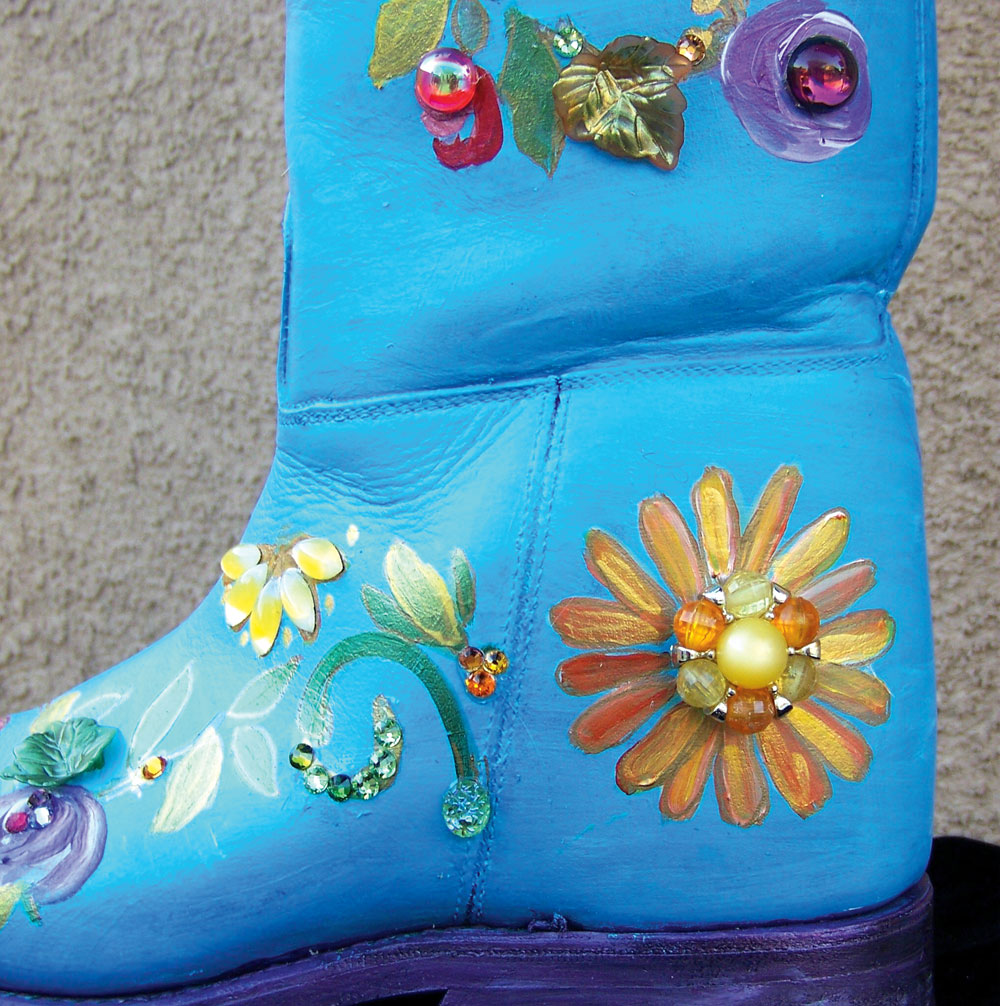 Holiday Boot Craft