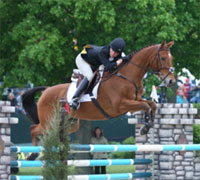 One combination for the U.S. features a grandfather and his 18 year-old horse