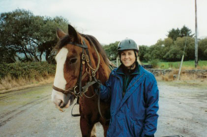 Liz and Irish Horse