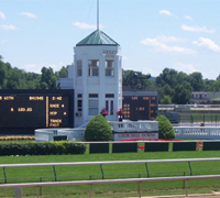 Eight Belles was buried at Churchill Downs in 2008