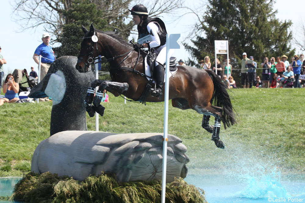 Libby Head and Sir Rockstar at Rolex 2014