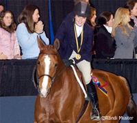 Kimberly McCormack, 2007 winner of the ASPCA Maclay National Championship