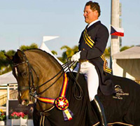 The 2009 Exquis World Dressage Masters was held at the Palm Beach Equestrian Club